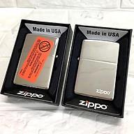 Bật lửa Zippo bạc (trơn bóng bạc) - Zippo Fullbox thumbnail