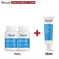 Mua 2 Viên uống Murad Pure Skin Clarifying Dietary Supplement 120 viên Tặng Oil and Pore Control Mattifier SPF 45 PA++++ thumbnail