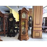Đồng hồ tháp cung điện gỗ hương vân lớn DH313 thumbnail