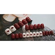 Bộ 24 móng tay giả nail thơi trang (như hình-R-006) thumbnail