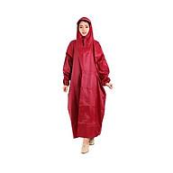 Áo mưa vải dù xẻ tà cao cấp 1m4 siêu bền, một đầu thumbnail
