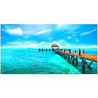 Tranh dán tường cửa sổ 3D Tranh trang trí 3D Tranh phong cảnh đẹp 3D T3DMN_T6_259 thumbnail