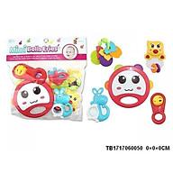 Túi đồ chơi xúc xắc lục lạc cho bé set 5 món Toys House 776-1 giúp bé sơ sinh kích thích phát triển giác quan - tặng đồ chơi tắm màu ngẫu nhiên thumbnail
