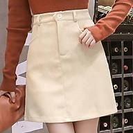 Chân Váy Chữ A vải nhung tăm thời trang mùa đông cho nữ thumbnail