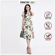 Chấn váy dài thô mỏng họa tiết nổi bật dáng chữ A BJD52159- PANTIO thumbnail
