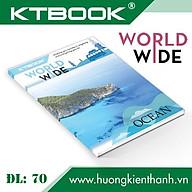 Gói 10 cuốn Tập học sinh KTBOOK cao cấp Giá rẻ Worldwide giấy trắng ĐL 70 gsm - 96 trang thumbnail