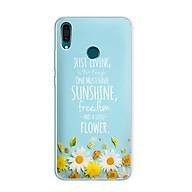 Ốp lưng điện thoại Huawei Y9 2019 - 01143 7811 Cúc Họa Mi 03 - Silicone dẻo - Hàng Chính Hãng thumbnail