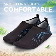 Giày đi dưới nước chống trơn trượt, gọn nhẹ, sử dụng nhiều lần, phù hợp đi du lich, leo núi, thân thiện với môi trường, chịu nước tốt và nhanh khô, nhiều màu lựa chọn (SA012-BB) thumbnail