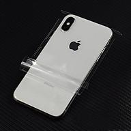 Miếng dán PPF Full viền mặt lưng sau cho iPhone XS Max hiệu WOTAER Tự hồi phục vết trầy - Hàng chính hãng thumbnail