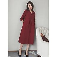 Đầm dài dáng jacket thắt eo ArcticHunter, phong cách Hàn Quốc, thương hiệu chính hãng thumbnail