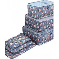 Set 6 túi du lịch đựng đồ chống thấm thumbnail