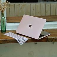 COMBO 3in1 - Case, ốp kèm phủ phím dành cho Macbook - Màu Hồng Pastel [Tặng kèm nút chống bụi Macbook - Màu ngẫu nhiên] - Hàng chính hãng thumbnail