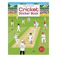 Usborne Cricket Sticker Book thumbnail