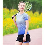 Áo Thể Thao Tập Gym, Yoga Nữ Ngắn Tay Co Dãn Mềm Mại TT11 thumbnail