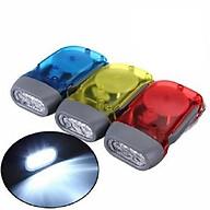 Đèn pin mini siêu sáng sạc cơ tay không dùng điện siêu tiện lợi- Giao màu ngẫu nhiên thumbnail