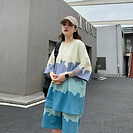 Đồ bộ nam nữ chất thun mát lạnh tạo cảm giác thoải mái cho người mặc, màu sắc trẻ trung năng động thumbnail