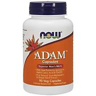 NOW - ADAM Men s Multiple Vitamin - Bổ Sung Vitamin tổng hợp & Khoáng Chất Thiết Yếu Do Thiếu Hụt Trong Bữa Hàng Ngày, Dành Cho Nam Giới Chai 90 Viên thumbnail