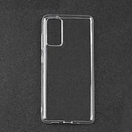 Ốp lưng dành cho Samsung Galaxy S20 FE dẻo silicon trong cao cấp thumbnail
