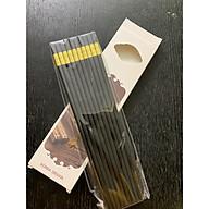 Hộp 10 đôi đũa ăn bọc mạ vàng thumbnail