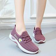 Giày thể thao nữ họa tiết hoa cúc đi bộ cực êm siêu xinh V253 thumbnail