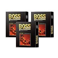 Bộ 3 Hộp Bao Cao Su Malaysia Boss 4 in 1 3 cái - Kéo Dài Thời Gian - Gai Li Ti Nhỏ thumbnail