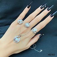 Bộ Trang Sức Ngọc Trai Cao Cấp PDJ M702 thumbnail