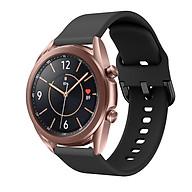 Dây Cao Su Cho Galaxy Watch 3 41mm 45mm (Dây Size 20mm và 22mm) thumbnail