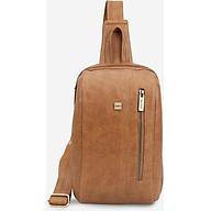 Túi đeo chéo trước ngực nam dáng bầu năng động IDIGO MB2-411-00 thumbnail