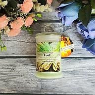 Nến thơm lọ thủy tinh sả chanh không khói Ecolife - Aroma Candles Lemongrass Jar thumbnail