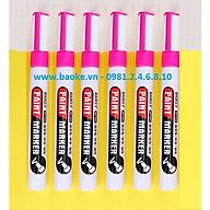 Hộp 6 cây bút sơn Baoke - MP560 màu hồng thumbnail