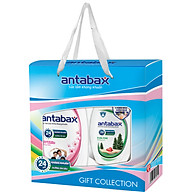 Hộp Quà Sữa Tắm 900ml & Nước Rửa Tay Kháng Khuẩn Antabax 250ml - Tặng kèm xà bông cục & sữa tắm bỏ túi Antabax (giao mùi ngẫu nhiên) thumbnail