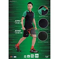 Áo tennis Nam - AVP07 Vina Authentic, chất đẹo, dáng đẹp, thấm hút mồ hôi thumbnail