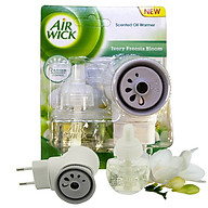 Bộ khuếch tán tinh dầu tự động Air Wick Ivory Freesia Bloom 19ml QT04986 - lan trắng nam phi thumbnail