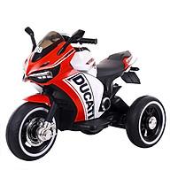 Xe máy điện 3 bánh DUCATI 6188 moto đạp ga cho bé 2 động cơ (Đỏ-Đen-Xanh dương-Xanh lá-Cam) thumbnail