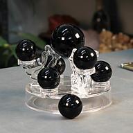 Thất Tinh Trận Đá Obsidian Đen 15cm thumbnail