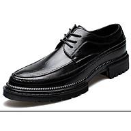 Giày nam cao cấp giày da bò giày nam da thật giày nam thời trang giày nam kiểu dáng hiện đại mã T36123 thumbnail