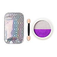 Nail Mirror Glitter Powder 2-Color Nail Art UV Gel Polishing Chrome Flakes Pigment Dust DIY Nails Decorations thumbnail