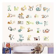 Decal dán tường bảng chữ cái AY877 thumbnail