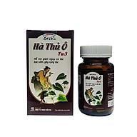 Thực phẩm chức năng Hà Thủ Ô TW3 lọ 30 viên ngăn ngừa bạc tóc và giảm gãy rụng tóc. thumbnail