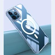 Ốp Lưng Hỗ trợ Sạc Magsafe Thương Hiệu Leeu Design dành cho iPhone 12 Pro Max - Hàng Nhập Khẩu thumbnail