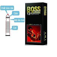Bao cao su Malaysia Boss 4 trong 1 thumbnail