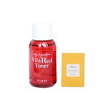 Nước Hoa Hồng Dưỡng Trắng, Se Khít Lỗ Chân Lông Tiam My Signature Vita Red Toner Minisize 40ml + Tặng Kèm 1 Sample Huxley ( Loại Ngẫu Nhiên) thumbnail