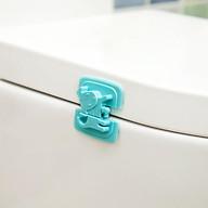 Khóa, chốt cửa tủ, ngăn kéo, tủ lạnh an toàn cho bé vui chơi trong nhà ( giao màu ngẫu nhiên) thumbnail