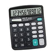 Desktop Electronic Calculator 12-Digit Large LCD Display Standard Function Calculator Solar & Battery Dual Power thumbnail