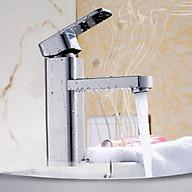 Vòi lavabo nóng lạnh đồng thau mạ crome 203 thumbnail