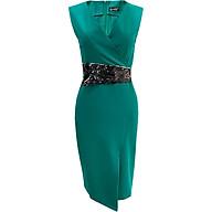 Đầm Ôm Dự Tiệc Đẹp Kiểu Đầm Ôm Xẻ Tà Phối Kim Sa GOTI3043 thumbnail