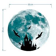 Giấy dạ quang trang trí-mặt trăng thumbnail