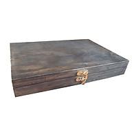 Hộp gỗ kiểu dáng vintage màu sắc dã cổ hoài niệm. dùng để trang trí hay để bì thư, hộp trang sức , để chìa khóa , các vật dụng linh tinh khác. thumbnail
