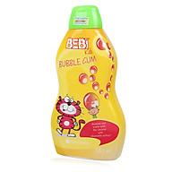Sữa tắm gội cho bé Bebi Kids Bubble Gum hương kẹo gum 380ml thumbnail