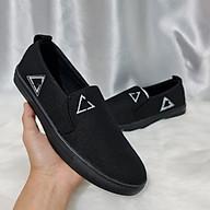 Giày Lười Vải, Hình Thêu, Đế Chống Trơn Trượt - LV03 thumbnail